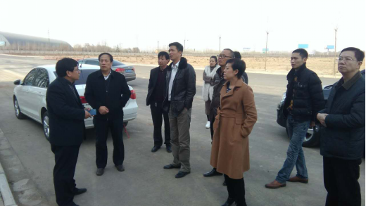Beijing yuantong express company vice general manager Fang SongMing Inspection