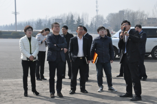 Letv Vice Chairman LiRui Visit to Group Cooperation